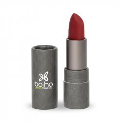 Rouge à lèvres bio mat couvrant Groseille photo officielle de la marque Boho Green Make-Up