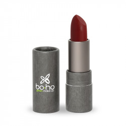 Rouge à lèvres bio mat couvrant Tapis rouge photo officielle de la marque Boho Green Make-Up
