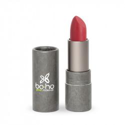 Rouge à lèvres bio mat couvrant Tulipe photo officielle de la marque Boho Green Make-Up