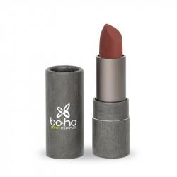 Rouge à lèvres bio mat couvrant Lin photo officielle de la marque Boho Green Make-Up