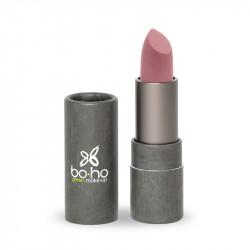 Rouge à lèvres bio mat couvrant Indie photo officielle de la marque Boho Green Make-Up