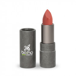 Rouge à lèvres bio glossy Capucine photo officielle de la marque Boho Green Make-Up