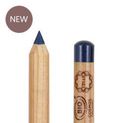 Crayon yeux bio et vegan Bleu photo officielle de la marque Boho Green Make-Up