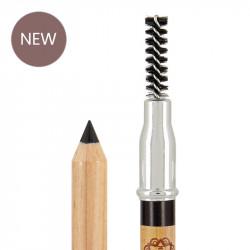 Crayon sourcils bio et vegan Anthracite photo officielle de la marque Boho Green Make-Up