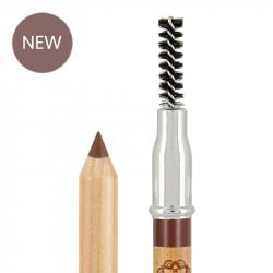 Crayon sourcils bio et vegan Auburn photo officielle de la marque Boho Green Make-Up