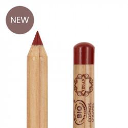 Crayon lèvres bio et vegan Brick red photo officielle de la marque Boho Green Make-Up