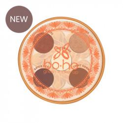 Palette de 5 ombres à paupières bio et vegan Valley of fire photo officielle de la marque Boho Green Make-Up