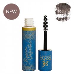 Mascara bio et vegan marron Définition photo officielle de la marque Boho Green Make-Up