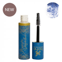 Mascara bio et vegan bleu Définition photo officielle de la marque Boho Green Make-Up