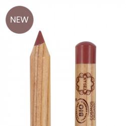 Crayon lèvres bio et vegan Vieux rose photo officielle de la marque Boho Green Make-Up