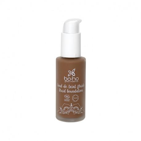 Fond de teint fluide bio Café au lait photo officielle de la marque Boho Green Make-Up