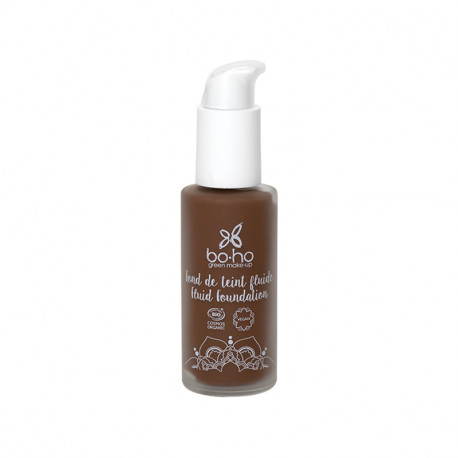 Fond de teint fluide bio Expresso photo officielle de la marque Boho Green Make-Up