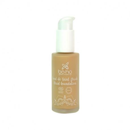 Fond de teint fluide bio Sable photo officielle de la marque Boho Green Make-Up