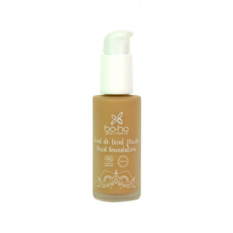 Fond de teint fluide bio Miel photo officielle de la marque Boho Green Make-Up