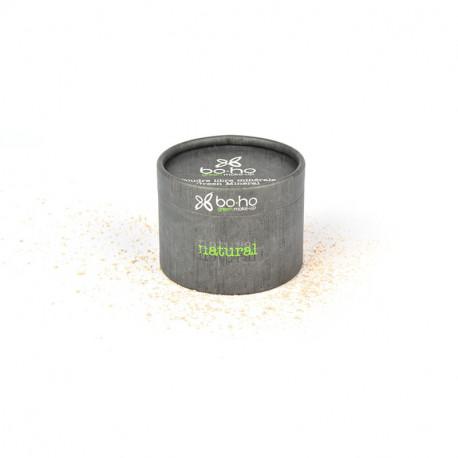 Poudre libre bio Beige diaphane photo officielle de la marque Boho Green Make-Up