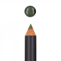 Crayon yeux bio Emeraude nacrée photo officielle de la marque Boho Green Make-Up
