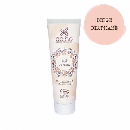 BB crème bio Beige diaphane photo officielle de la marque Boho Green Make-Up