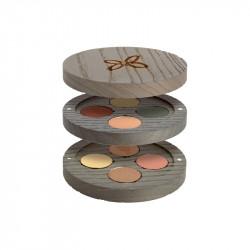 Gypsy palette rechargeable Travel photo officielle de la marque Boho Green Make-Up