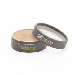 Poudre compacte bio Beige halé photo officielle de la marque Boho Green Make-Up
